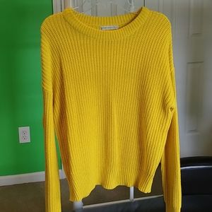Yellow women's sweater